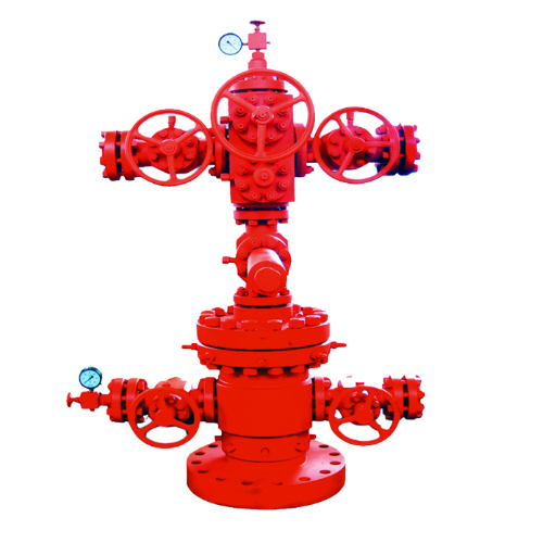 Wellhead Christmas Tree Diagram: Conventional Drilling & Recovery Equipment
