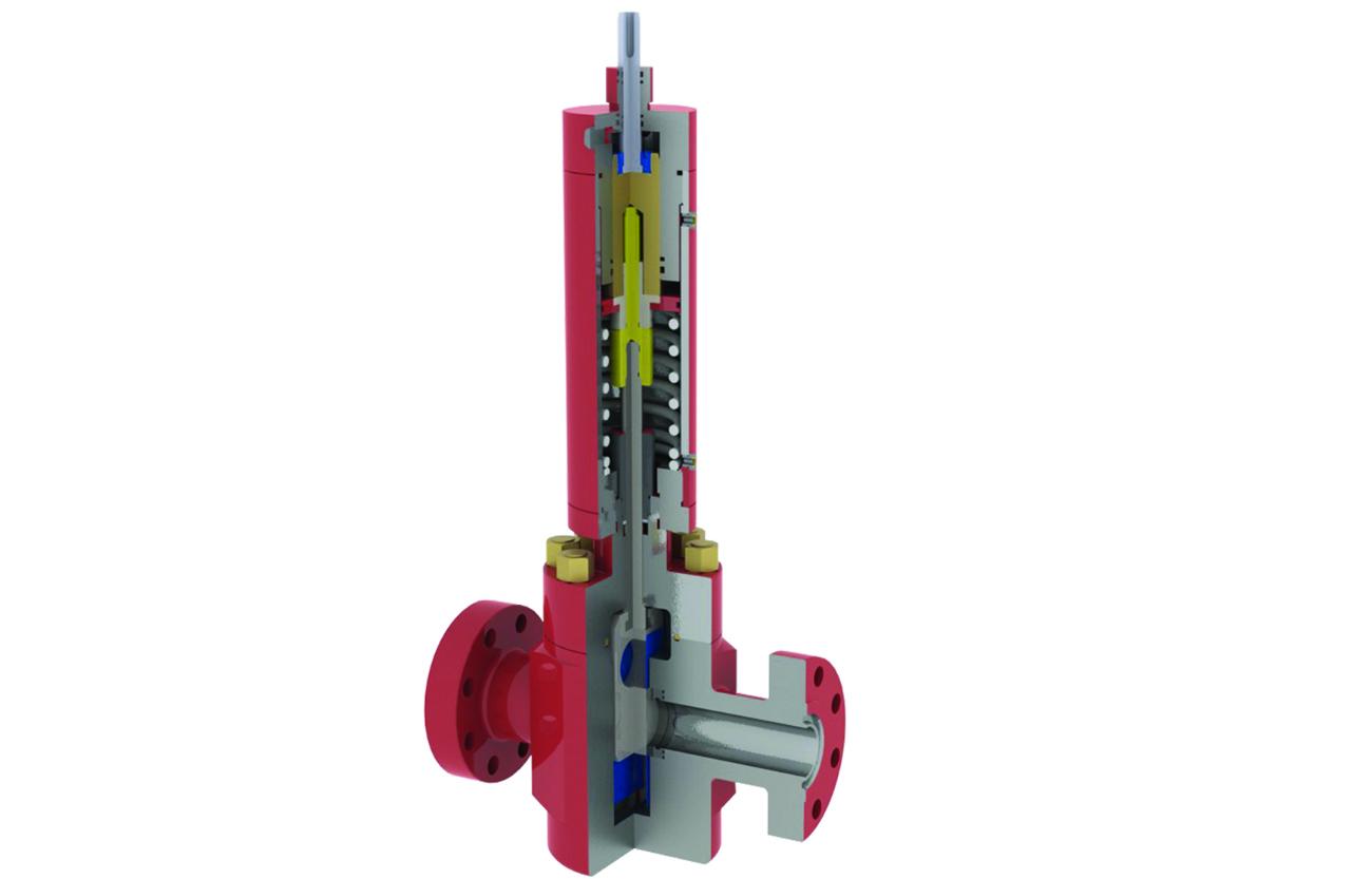 Wellhead Surface Safety Valve Oilfield Safety Valve