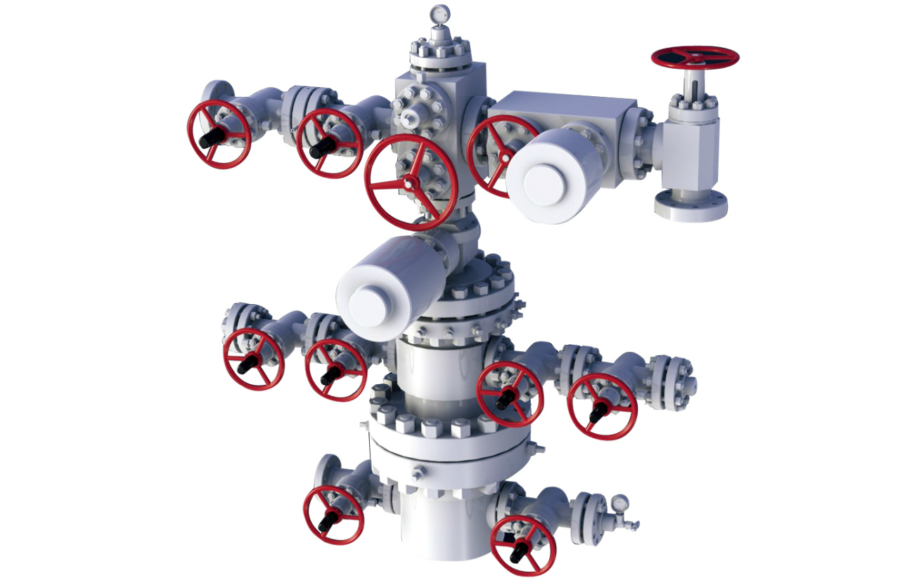 Thermal Recovery Wellhead Christmas Tree Gas Recovery Wellhead
