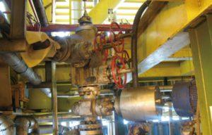 Gas recovery wellhead christmas tree