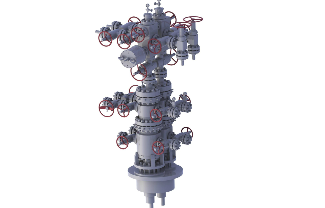 Thermal Recovery Wellhead Christmas Tree,Gas Recovery ...